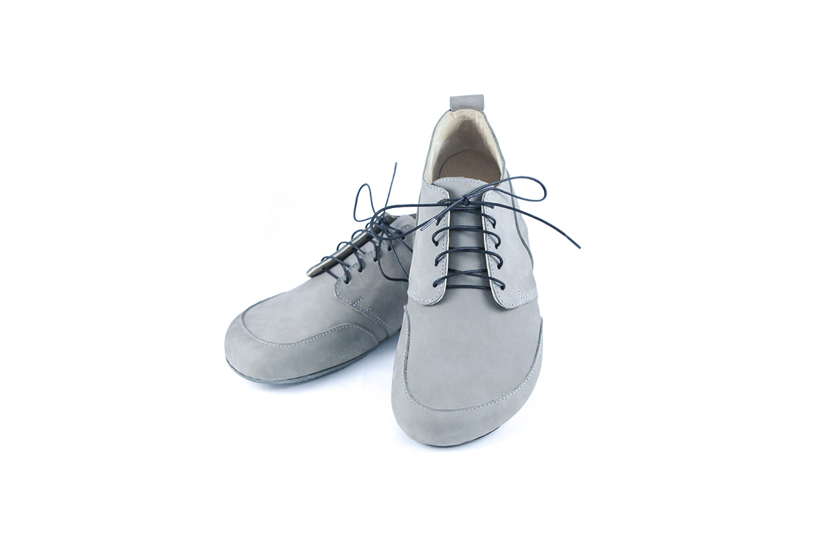 Jenon leather Business Gray
