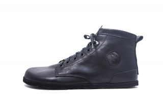 Jenon leather - Yeans black